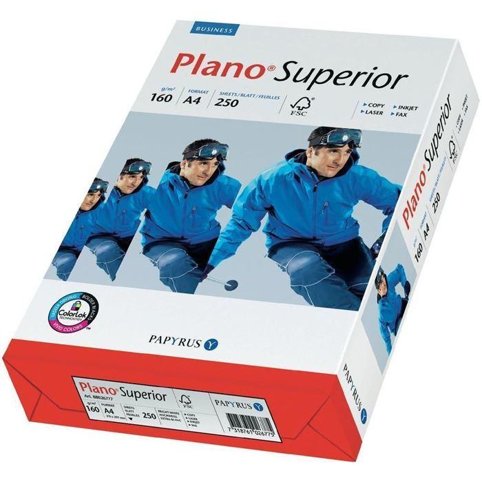 PAPIR PLANO SUPERIOR A4/160g