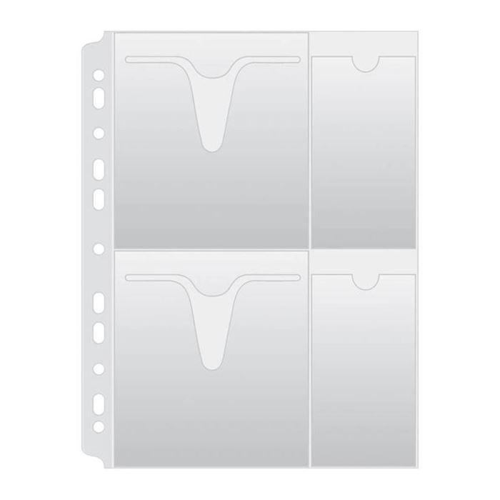 VLOŽNA MAPA PP A4 160MIC ZA 4 CD/DVD