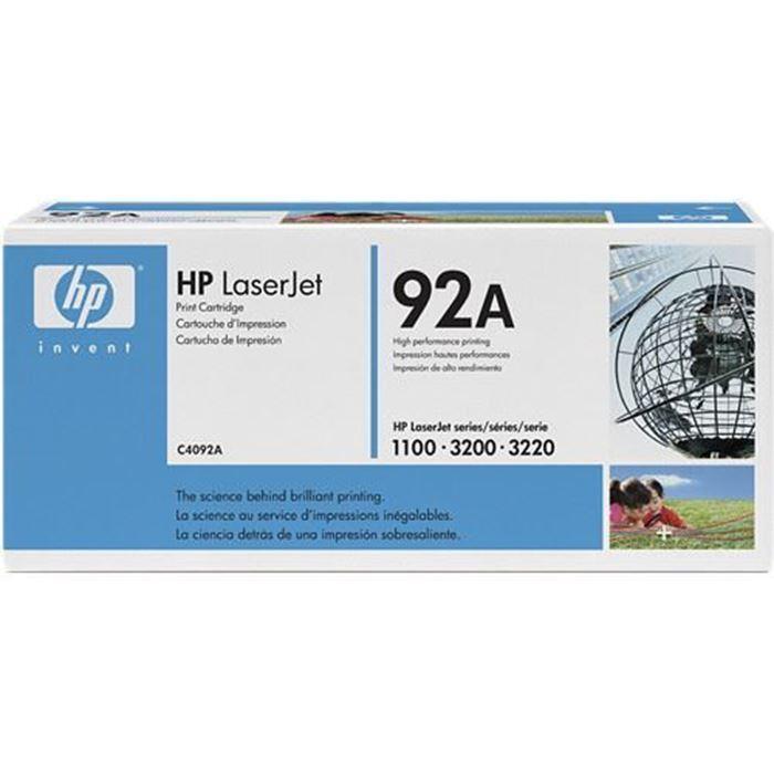 TONER HP 92A ČRN C4092A
