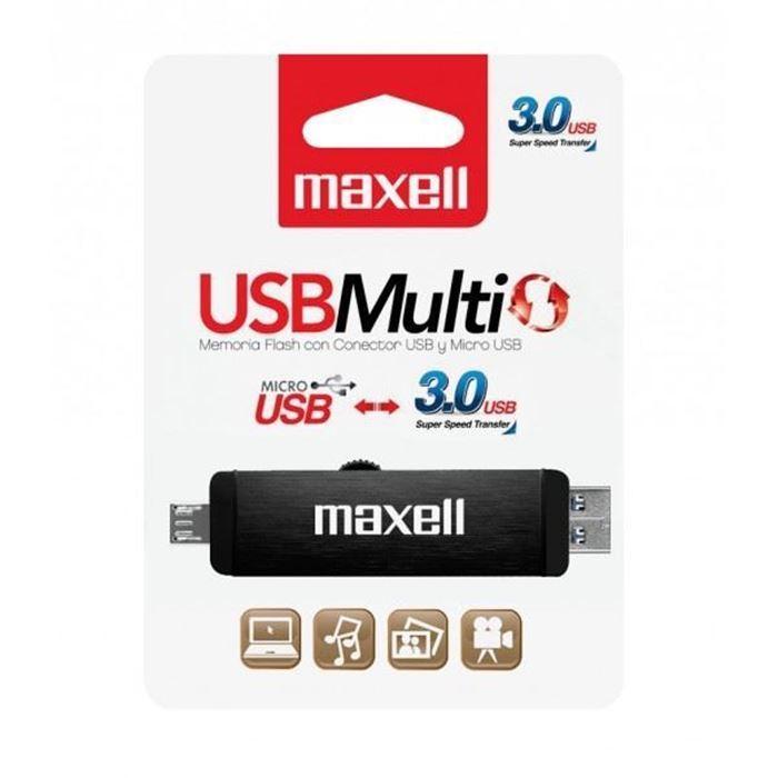 Maxell USB ključ 16GB dvojni 3.0