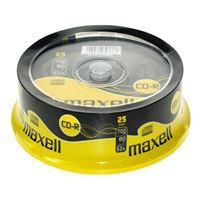 Maxell CD-R 700MB 52X 25 na osi