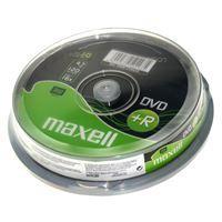 Maxell DVD+R 4,7GB 16X 10 na osi