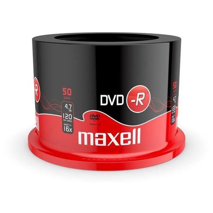 Maxell DVD-R 4,7GB 16X 50 na osi