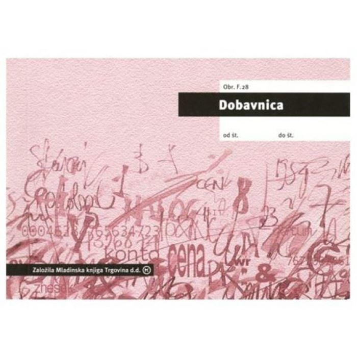DOBAVNICA A6 SAMOKOPIRNA TIS-F.28