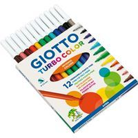 FLOMASTRI GIOTTO 416000 TURBO COLOR 12/1