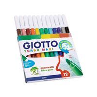 FLOMASTRI GIOTTO 454000 TURBO COLOR MAXI 12/1