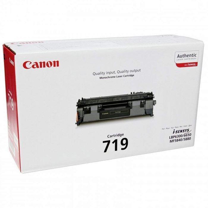 CANON TONER CRG-719 BLACK ZA LBP6300DN/6650DN, MF5840/5880 (2100k)