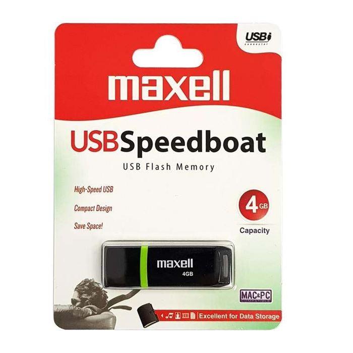 MAXELL USB KLJUČ 4GB Speedboat 2.0