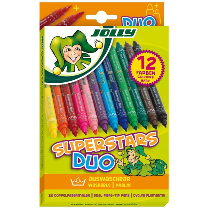 FLOMASTRI SUPERSTAR, DUO 12/1 JOLLY, 4425-0001