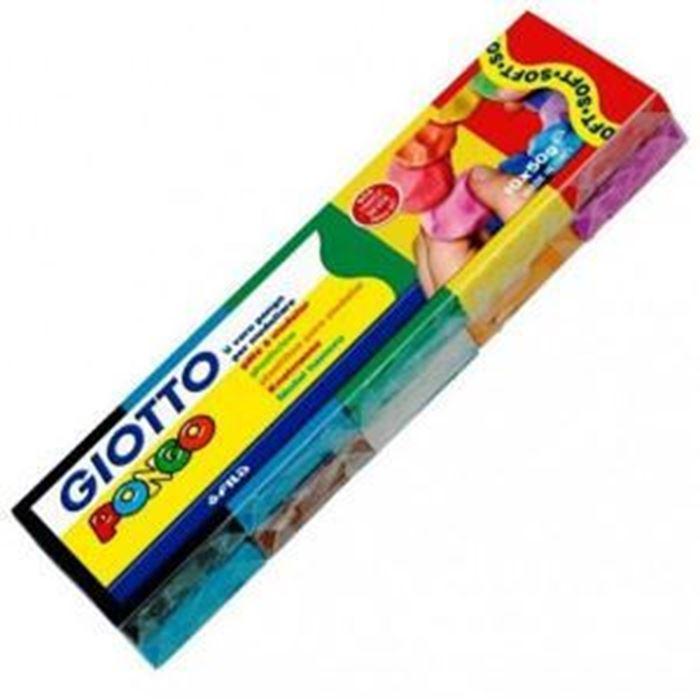 PLASTELIN GIOTTO PONGO 10X50 GR