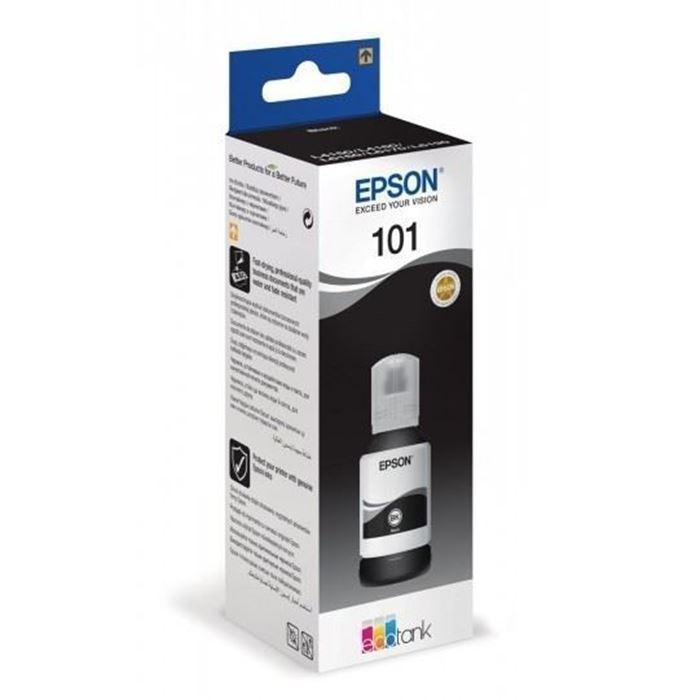 EPSON ČRNILO 101 C13T03V14A ČRNA STEKLENIČKA L100/L200/L210/L300