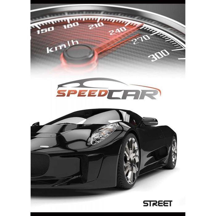 ZVEZEK STREET FAST CARS, SORTIRANO, A4, črte z robom