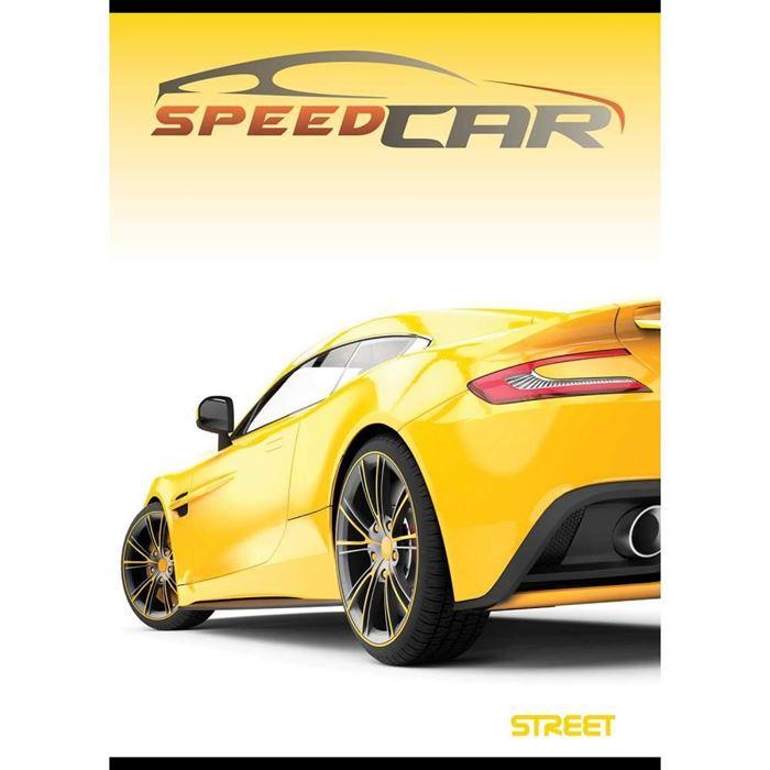 ZVEZEK STREET FAST CARS, SORTIRANO, A5, črte z robom